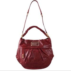 Marc by Marc Jacobs Red twisted Q lil riz bag